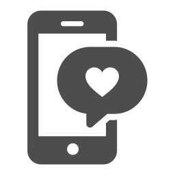 chat love icon